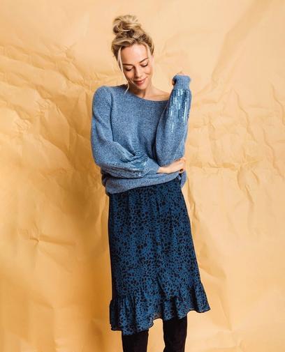 Combi parfaite : jupe et pull